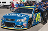 Jimmie Johnson's Car Headed for Inspection (Wingwatcher) Tags: 2016nascarchampionshipweekend jimmiejohnson homesteadmiamispeedway 48 nascar