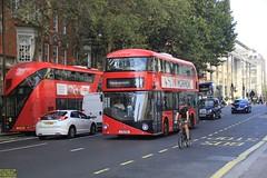 """2013 Wrightbus NBFL """"Borismaster"""" #LT118 & 2016 Wrightbus NBFL """"Borismaster"""" #LT714 (busdude) Tags: wrightbus newbusforlondon borismaster new routemaster tfl transport for london abellio holding bv ns nederlandse spoorwegen goahead go ahead goaheadlondon general 2013 nbfl lt118 2016 lt714"""