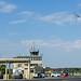 F-35 Lightning II buzzing tower