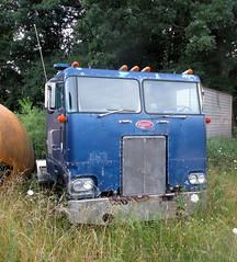 Peterbilt Cabover Truck (*hajee) Tags: peterbilt cabover truck