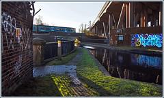 A long way from Wales (geoff7918) Tags: smethwick motorway canal 1130 aberystwyth pwlheli birmingham