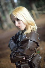 Gold - Vex Skyrim cosplay (DrosselTira) Tags: vex thief guild tes tesv elder scrolls v 5 cosplay videogames thieves thievesguild skyrim leather armor master guildmaster costume armour outfit