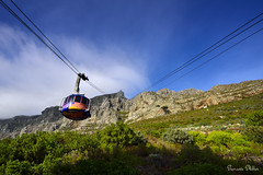 Table Mountain cable car (Sumarie Slabber) Tags: sumarieslabber southafrica tablemountain capetown travel skies blue nikon 20mm landscape tourism nature