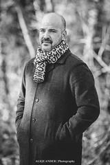 Portraits (rednauqila) Tags: f28 people man bw blackandwhite bokeh hungary portrait outdoor 135mm 6d eos canon