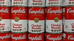 Chicken noodle soup (SchuminWeb) Tags: county red food white chicken retail soup store md display ben label web january maryland can displays canned labels montgomery noodle cans grocery stores safeway campbell campbells groceries condensed wheaton soups retailer 2015 retailers retailing schumin schuminweb