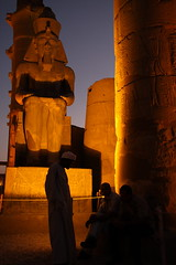 Luxor Temple At Night (El-Branden Brazil) Tags: temple ancient egypt holy sacred pillars luxor pharaohs luxortemple