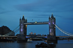 Tower Bridge (Turist of the World) Tags: bridge london thames towerbridge river dusk nightfall