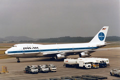 Pan American World Airways - Pan Am Boeing 747-121 N733PA ''Clipper Pride of the Sea'' (Kambui) Tags: airplane airplanes zrich panam boeing747 747 aviones avions kloten zrh flugzeuge  avies aeroplani kambui  panamericanworldairwayspanam