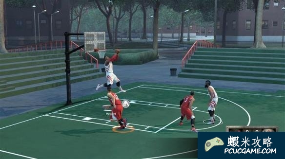 NBA 2K16 空接灌籃操作教學