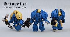 Saturnine Pattern Terminator (Garry_rocks) Tags: rouge pattern lego 40k warhammer ultramarine terminator mecha trader spacemarine hardsuit saturnine preheresy