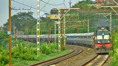 Koyna Express (AyushKamal2014) Tags: kamshet koynaexpress punewdg3a 14565r