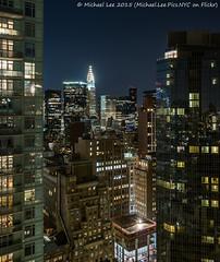 Midtown East (PA101562) (Michael.Lee.Pics.NYC) Tags: longexposure newyork rooftop night olympus aerial midtown chryslerbuilding eastside mkii markii em5 panasonicleica15mm17