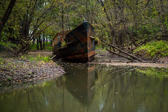 Kentucky Ghost Ship (ArchitecturalAfterlife) Tags: our ohio history abandoned river ship kentucky ghost yo photojournalism adventure explore story forgotten rusted future johnny past johnnyjoophotography