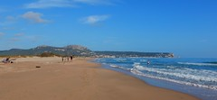 Gola del Ter (Meino NL) Tags: sea espaa beach spain mediterranean catalunya espagne costabrava spanje estartit cataloni middellandsezee goladelter lagola beachlestartit