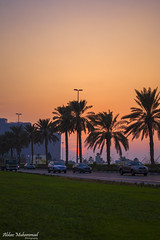 Al Khaleej Road - Dubai (AbbasMuhammad) Tags: new girls sunset love nude landscape al dubai great uae khalifa sharjah hdr burj ajman