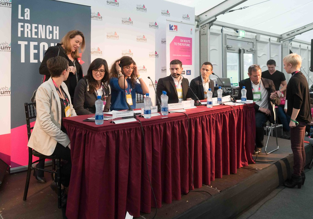 TODAY AT THE WEB SUMMIT THERE WAS A PRESS CONFERENCE HOSTED BY AXELLE LEMAIRE [FRENCH MINISTER RESPONSIBLE FOR DIGITAL AFFAIRS]-109917