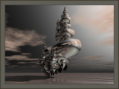 the sacred element (bloorose-thanks 4 all the faves!!) Tags: abstract art digital 3d mesh render fractal bryce incendia