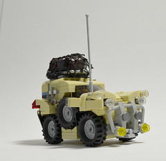RSV-2 Gopher (Ground Up) (Klikstyle) Tags: lego jeep offroad military