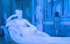 PAULINA BLUE (Honevo) Tags: italy roma art photo arte galeria antonio galleria canovas canova borghese paulina honevo