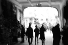 Büyükada.. İskele (kocatas14) Tags: light people monochrome istanbul vapur büyükada iskelesi