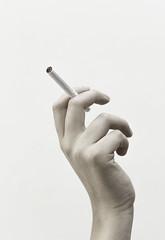 Cigarette (AlejandroCortsC) Tags: hand cigarette desaturation