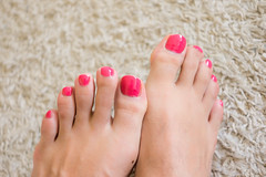 Pink sun (Inesines19) Tags: she pink man hot cute sexy men guy love feet girl beautiful rose foot kiss kissing toes long paint toe masculine girly nail tasty polish indoor nails barefoot salon pedicure earrings lovely straight he nailpolish today sandal toenails homme toenail varnish kissable lickable opi ongles pedi vernis