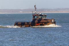 WB44 Sirocco (John Ambler) Tags: sign work john photography boat marine call ship photographer photos navy royal maritime ambler sirocco mmsi johnambler wb44 2cly9 235073924