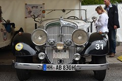 Horch 830 Cabriolet (1935) (Transaxle (alias Toprope)) Tags: auto classic cars beautiful beauty car sport race nikon classiccar antique hamburg racing retro motors coche soul carros classics carro autos nikkor classiccars coches clasico sportscar stadtpark toprope revival sportcars motorklassik bellamacchina