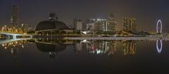 Marina Bay Singapore Countdown 2016 (gintks) Tags: reflection singapore esplanade goldenjubilee jubileebridge exploresingapore singaporeflyer singaporetourismboard wishingspheres sg50 yoursingapore esplanadefloat gintaygintks