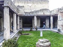 Herculaneum :Black Drawing Room House (sandromars) Tags: italy campania herculaneum blackdrawingroomhouse