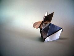 Rabbit - Yoshimasa Tsuruta (Rui.Roda) Tags: origami papiroflexia papierfalten bunny coelho conejo lapin rabbit yoshimasa tsuruta