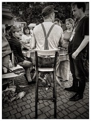 2016. Lviv. Ukraine (bobobahmat) Tags: autor publisher autograph bookforum forum book uniform military cap place town girl woman man portrait people ukraine lviv street city monochrome mono blackwhite blacknwhite blackandwhite white black bw bnw