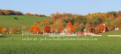 Amish Barn and Fall Color 5824 (intricate_imagery-Jack F Schultz) Tags: jackschultzphotography intricateimageryphotography amishcountry ohioamish southeasternohio fallcolor amishfarm