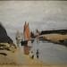 MONET Claude,1870 - L'Estacade de Trouville, Marée basse (Budapest)Totality