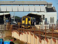 150221 & 153372 Dawlish (10) (Marky7890) Tags: gwr 150221 class150 sprinter 2t24 dawlish railway station devon train 153372 class153 supersprinter