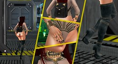 Bad, Bad Kitty #2 (msblairwaldorf) Tags: second life fashion blog catwa maitreya kitty legal insanity pure poison truth real evil sexy scifi photography