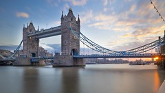 Sunrise at Tower Bridge (Nigel Wallace1) Tags: london longexposure tower bridge towerbridge uk england thames water capital city cityscape olympus omdem1 1240mm
