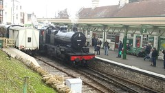 Fowler 53809 7F (andreboeni) Tags: swanage railway railroad station video fowler 53809 7f sdjr somersetdorset somerset dorset steam locomotive engine
