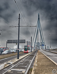 Crazy Sky (PaaulDvD) Tags: rotterdam colors river maas netherlands boat water city urban