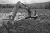 I've got 99 problems but a ditch aint one. (Chris Huddleston) Tags: excavator field mud hopeless stuck oops