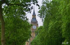 The Watch (Dinarte Frana) Tags: london bigben green uk watch europe europa