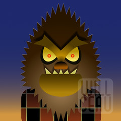 I Was a Vector Werewolf (willceau) Tags: affinitydesigner monster famousmonsters werewolf wolfman joewilliams willceauillo vector lycanthropy