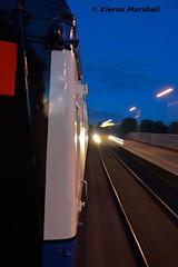 2203x passes Portarlington, 22/10/16 (hurricanemk1c) Tags: railways railway train trains irish rail irishrail iarnrd ireann iarnrdireann portarlington 2016 22000 rotem icr rok 5pce premierclass 1815heustonwestport