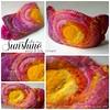 Wool & Silk Crown (BeneathTheRowanTree) Tags: felt felted waldorf birthdaycrown crown handmade