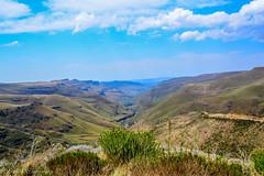 Sani Pass II (jeroenknol81) Tags: d5200 sigma nikon sanipass sa za southafrica zuidafrika afrika nature mountain berg natuur clouds wolken road weg outdoor ngc hill landscape canyon