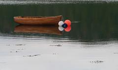 Seil Sound (Niall Corbet) Tags: scotland argyll seil boat rowingboat reflection