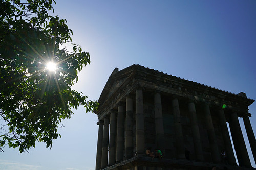 Sunshine over the Temple, Garni, Armenia