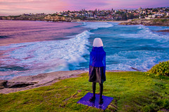 Untitled (Coral) by Alessandra Rossi, Sculpture by the Sea, Bondi (Theresa Hall (teniche)) Tags: sculpturebythesea sxs sxsbondi16 sxsmoments sxsmomentsbondi2016 2016 australia bondibeach boondi canberra nikkor2485 nikond750 sydney tamarama tamaramabeach tamron tamron70200 teniche tenichetheresahallnikon theresa theresahall art artist artwork beach clouds color colour landscape ocean outside sculpture sky sunrise coral alessandrarossi