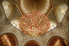 Sheikh Zayed Mosque (Ash if) Tags: mosque abudhabi summer august sheikhzayedmosque