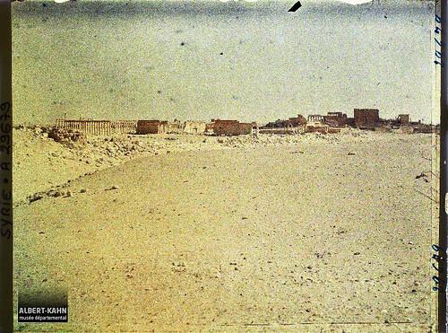 Syrie, Palmyre, Vue générale des ruines